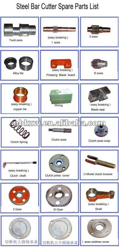 GQ40/3KW/380V Rebar cutter