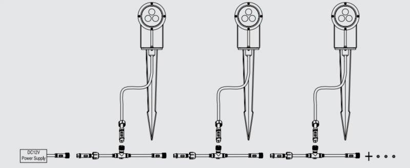 Garden Light Diagram Basic Guide Wiring: Garden Light Wiring Diagram At Shintaries.co