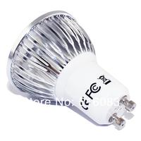 высокая ярко cree 12w gu10 4 * 3w 85v-265v привело света лампы привели прожектор dwonlight лампа 5шт epacket бесплатно