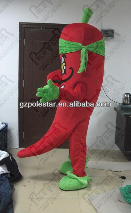 custom hot pepper mascot costumes NO.3844