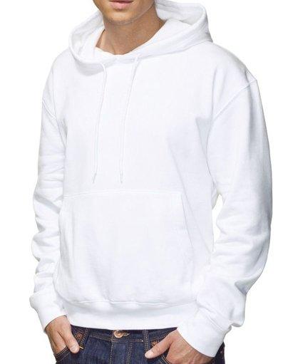 Blank white hoodie