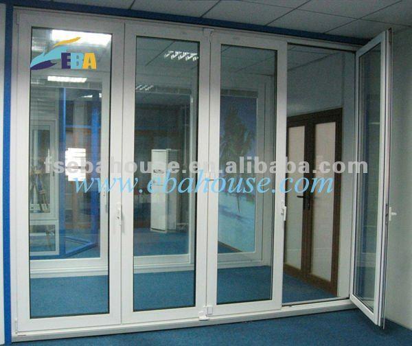 puerta plegable de aluminio exterior puerta de cristal principales diseos de puertas puerta de aluminio diseo