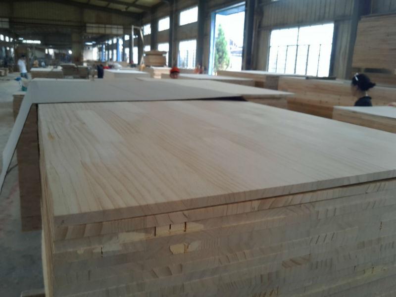 Raidata pine finger joint timber Edge gule panel