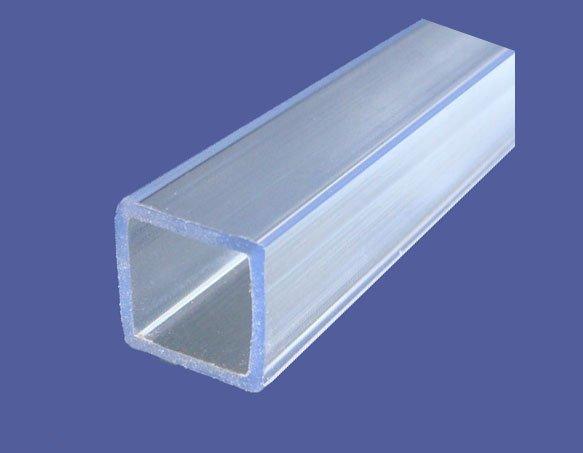 Colorido del pvc tubo cuadrado otros materiales de - Tubo pvc cuadrado ...