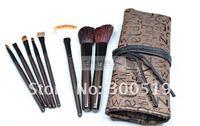 Кисти для макияжа B1056 8 in 1 Professional Fashion Makeup Brush Set Cosmetic Brushes With Brush Bag 1 set