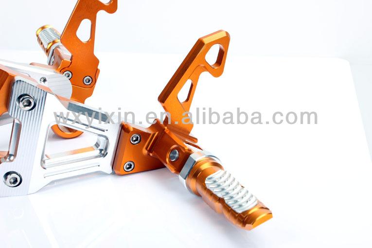 CNC Alloy Aluminium Adjustable Motorcycle Rear Sets KAWASAKI Ninja 250