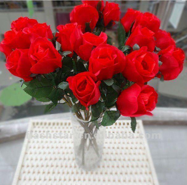 Touch искусственные цветы из шелка