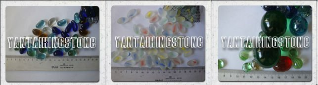 Transparent glass chippings for glass chips and concrete