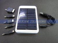 Зарядное устройство для мобильных телефонов Bottom price! 5000mah Solar Charger Solar Panel Battery Charger USB for iPhone/iPad Digital camera/PDA/PSP/GPS