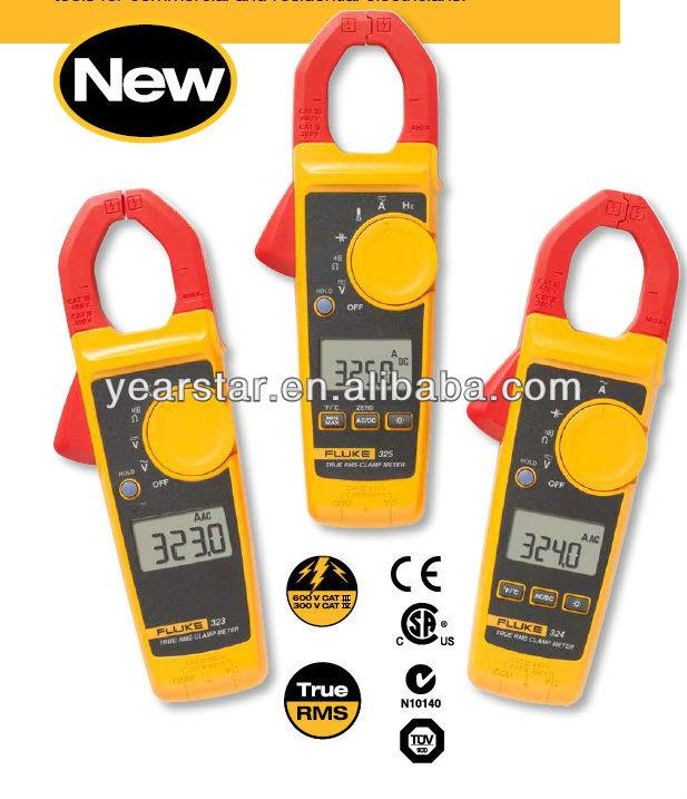 True Rms Clamp Meter Fluke 323 True-rms Clamp Meter