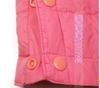 Free shipping 2012 hot sale new winter girls and boys five color down jacket,inner container suit