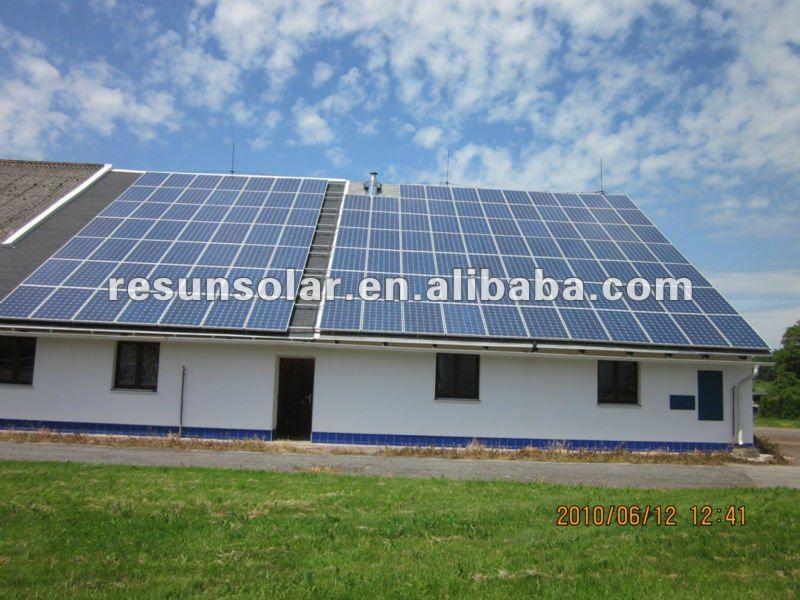 メキシコで人気があり! 高品質の太陽光発電の屋根瓦250wポリソーラーパネルを備えたceおよびtuvの証明書仕入れ・メーカー・工場