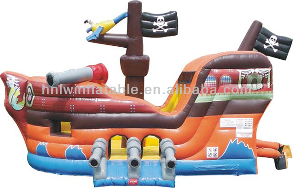 cheap kids fire truck inflatable bounce house for sale