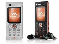 Free shipping original W880 mobile phone 2.0MP unlocked cell phone W880i
