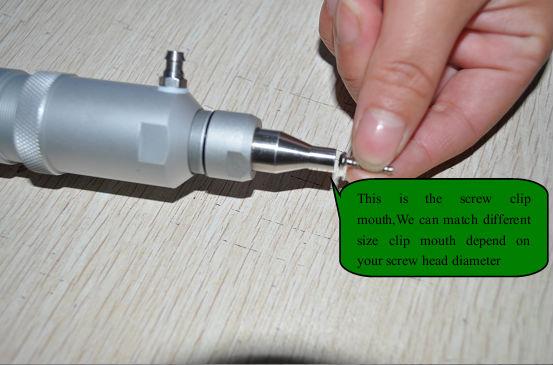 asa mini chave de fenda elétrica conjunto para óculos