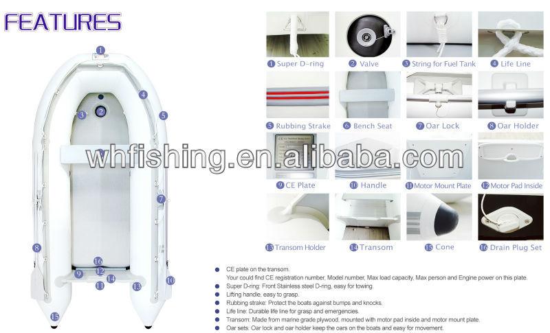 FSD SERIES OEM PVC BOAT INFLATABLE