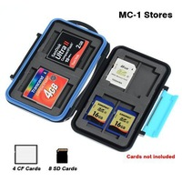 Потребительская электроника Waterproof Extremely tough Memory Card Case MC-2 for 4 CF cards 8 SD cards