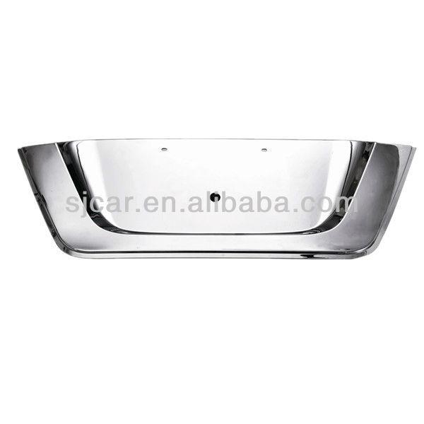 TOYOTA FORTUNER ABS chromed license plate frame