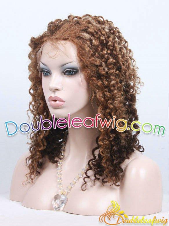 Brown Hair Blonde Streaks