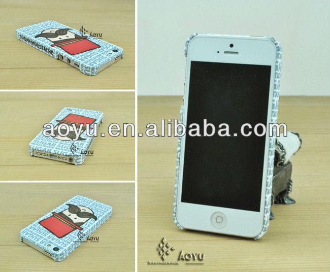 2013 Practical scratch resistant sublimation 3D phone case
