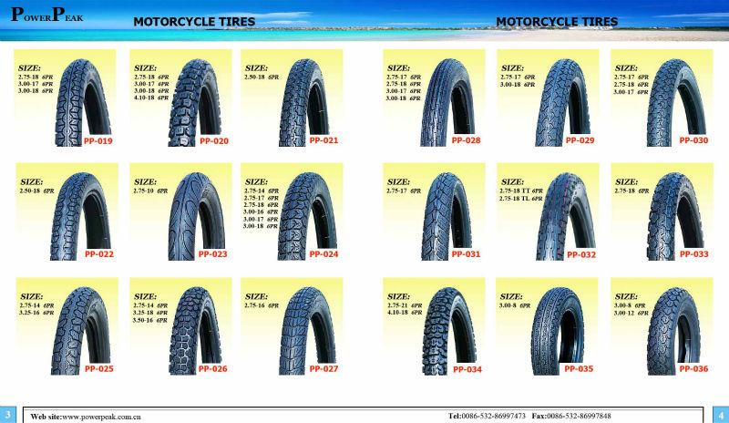 street tyre motorcycle 110/90-16