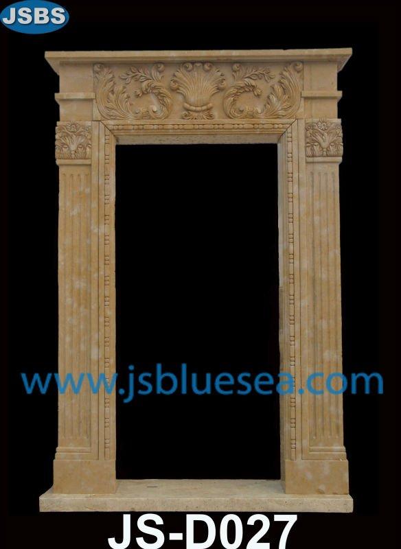marmol marco de la puerta piedra puerta rodean tallado marco de la puerta