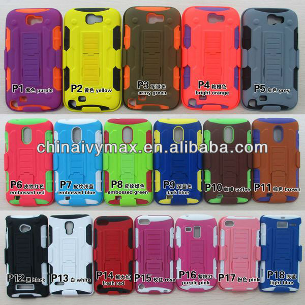 defender combo case for Samsung galaxy Note 3 mobile phone cover