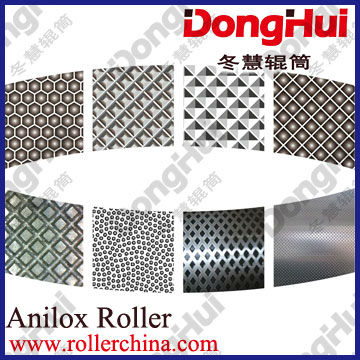 textured roller-en68,750*6000mm,for hot fabric,3D pattern,laser engraving,made by Shanghai Donghui Roller,Chinese famous manuf