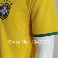 Ysjersey brazil home soccer jersey , YS-BX-W1A
