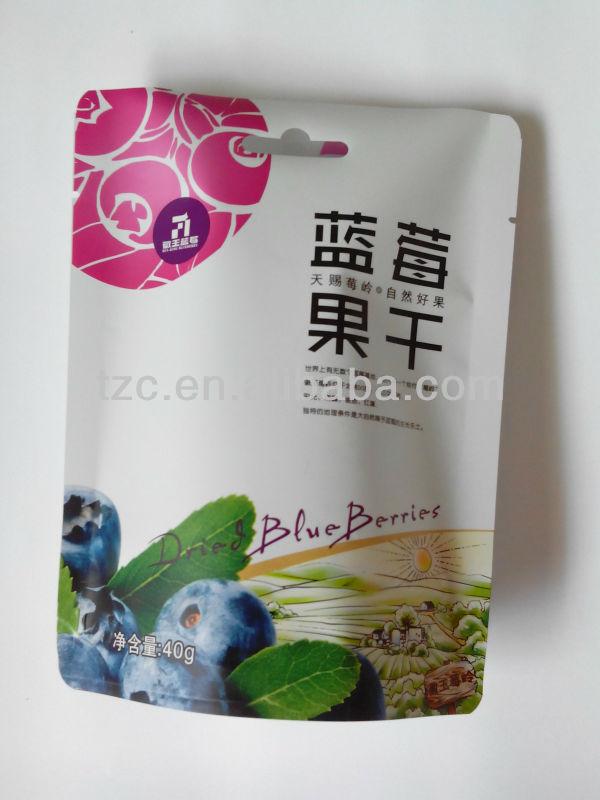 custom printed food grade bag heat seal resealable plastic bags
