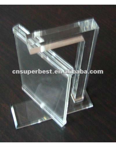 spining acrylic photo frame