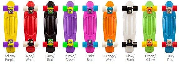 Penny Skateboard Multicolor The Penny Skateboard is