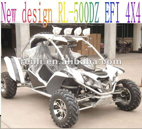 500cc 4X4 EEC go kart on road/street legal atv buggy