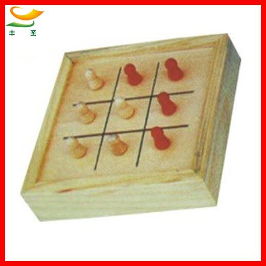handmade wooden kids mini travel game