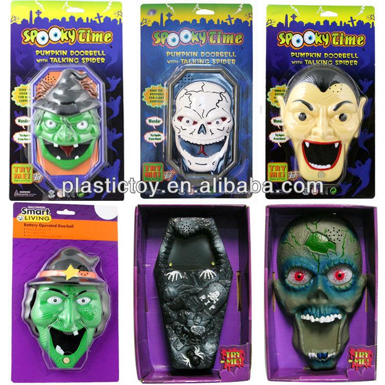 Decorating Ideas > Halloween Toys Horrible Talking Spider Door Bell Hvz145032  ~ 084113_Halloween Doorbell Sounds