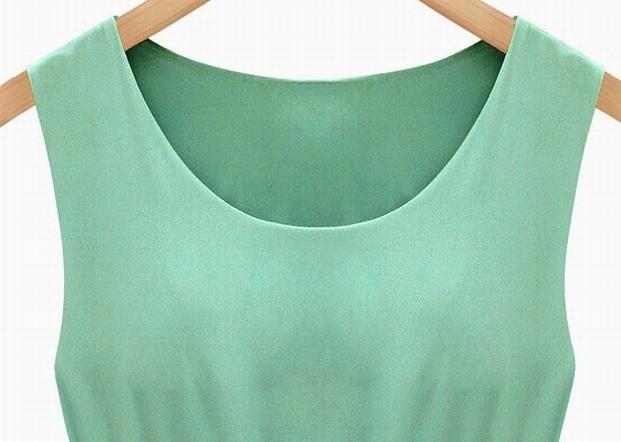 mulheres vestido plissado (1)