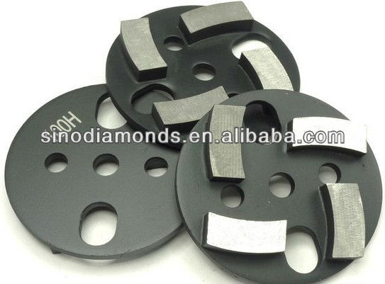 metal bond diamond grinding disc for leveling concrete and stone floor