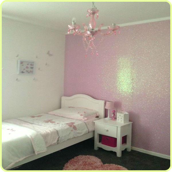 best new glitter fabric wallpaper for bedroom decoration