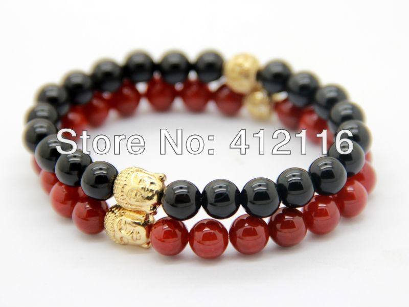Red Hematite Beads Hematite beads paired with