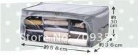 free shipping Wholesale NEW Foldable Storage Box, Bamboo Fiber Non/woven fabric Clothing Bag, Home Storage Box