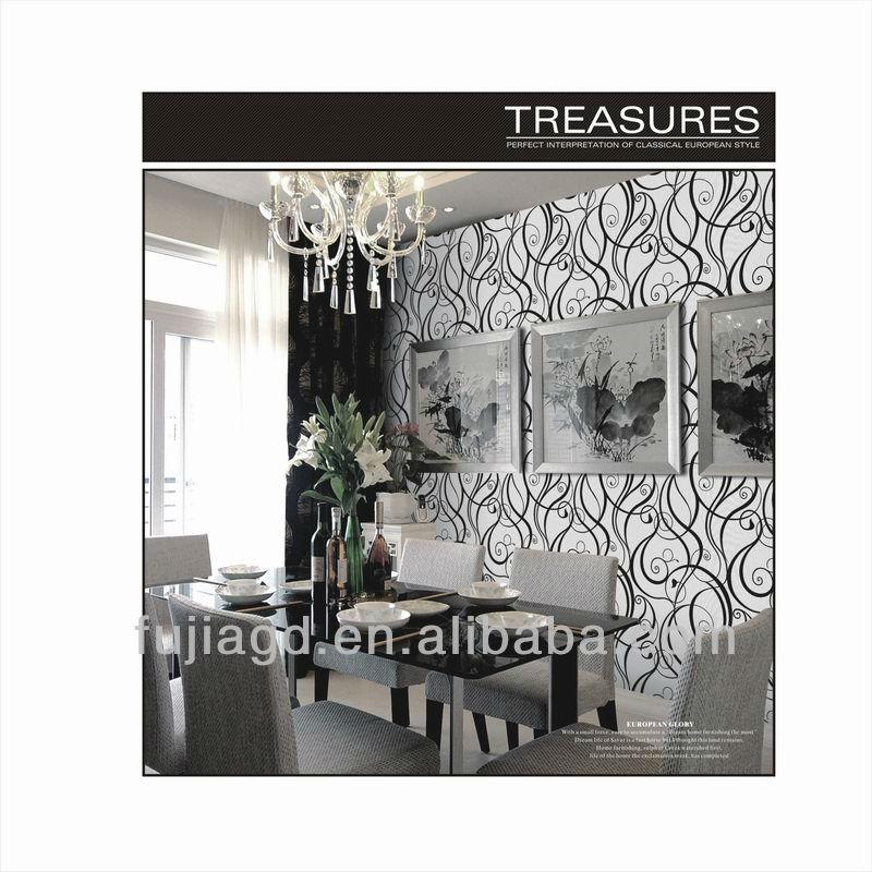 3d Design Flower Wallpaper Flower Wallpaper With Pvc 3d