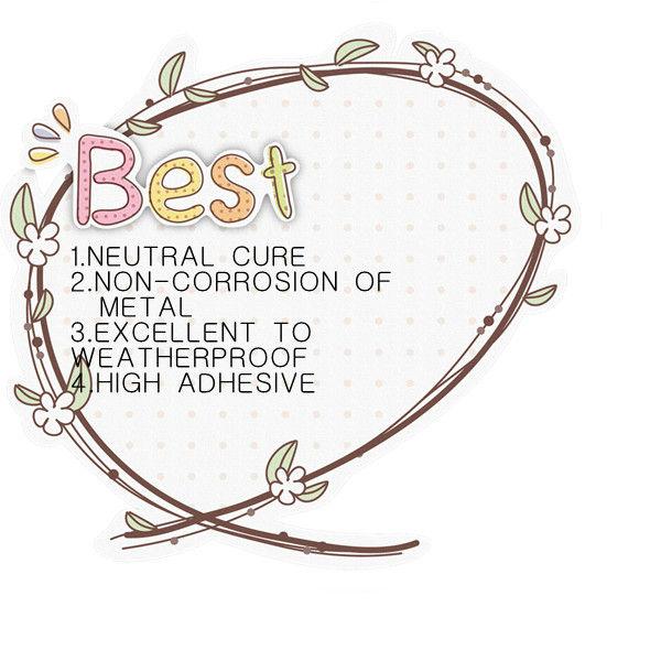 2013 fashion and good quality neutral silicone sealant 561