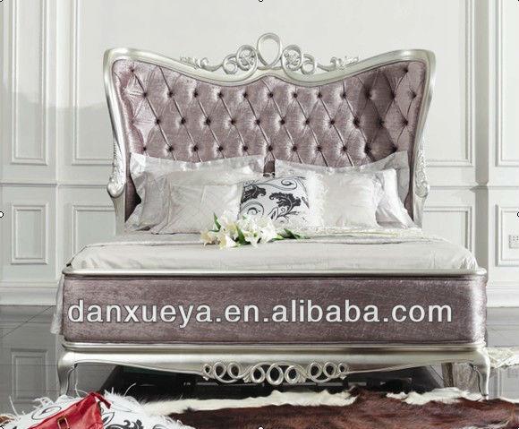 미국 스타일의 나무 조각 실버 침실 가구 침대 의자-침실 세트 ...