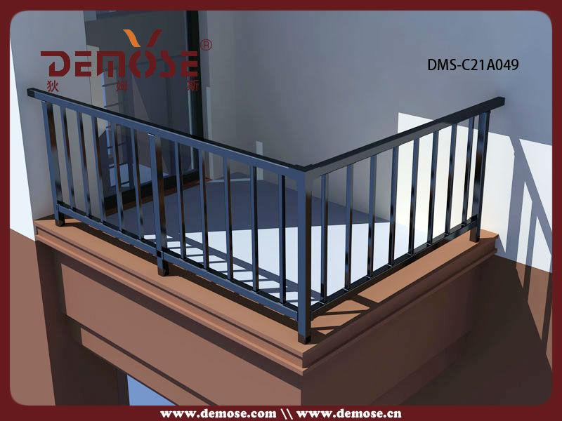 Simple Aluminum Terrace Railing Fencing Design View