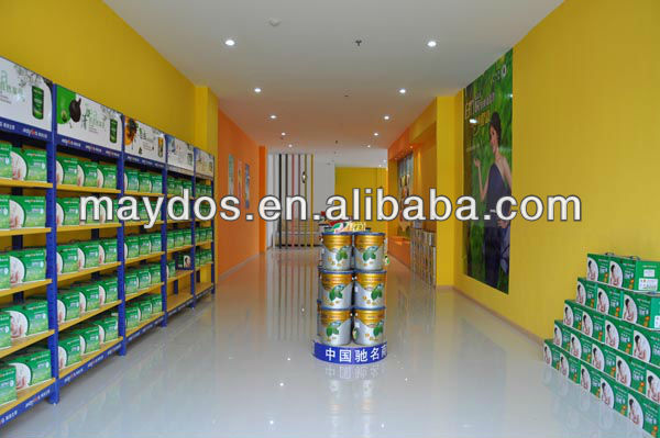 Semi-gloss interior wall paint/white color paint
