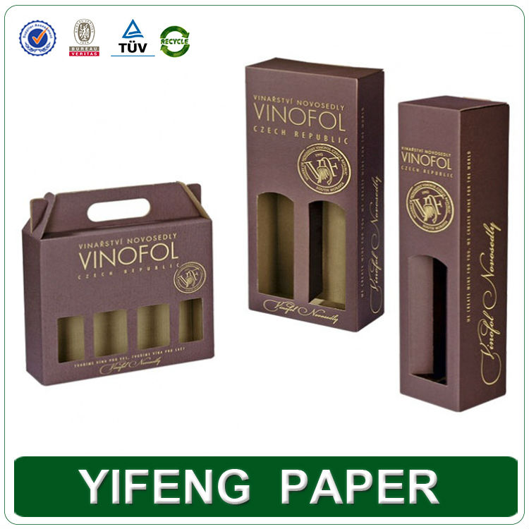 china wholesale luxury cheap printed customized corrugated box for wine packaging