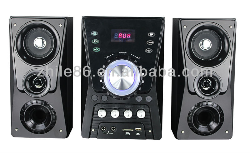 2.1 professional multimedia speaker system for home