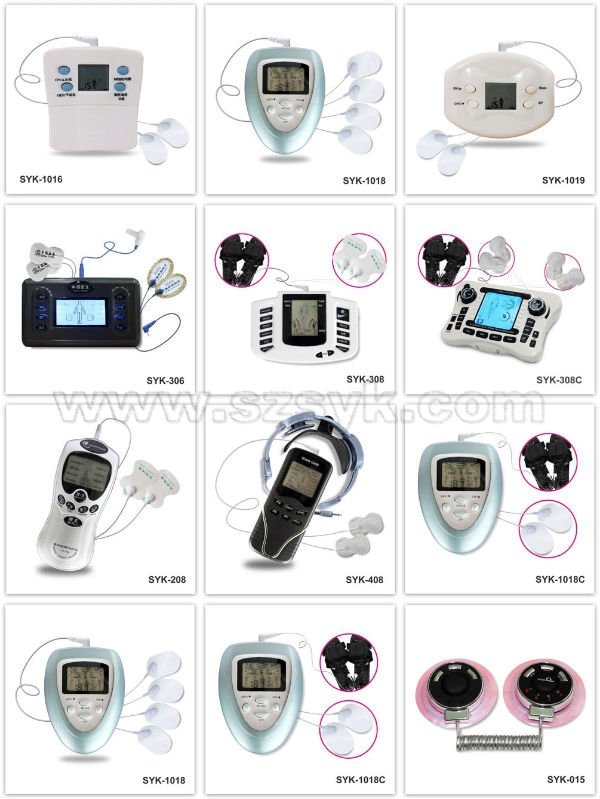 2014 new product digital therapy acupuncture massager machine with CE&RoHS