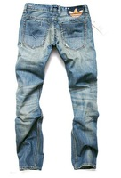 Free Shipping 2013 New Newly Style TOP brand cotton Men's Jeans Trousers Straight Leg size:28~36