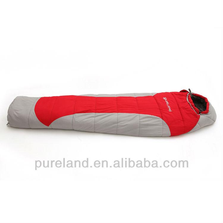 Fashion design mummy sleeping bag, hollow fiber sleeping bag, waterproof sleeping bag